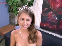 Yet another reason why Riley Reid is AWESOME! A swallow and a facial for the BLOWJOB PRINCESS!