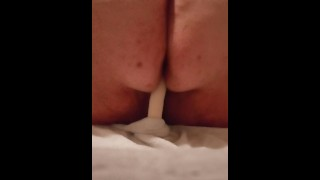 Pawg rides dildo hard and nice and slowwww