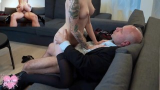 Arteya Pay Her Rent To Her Landlord With Blowjob and Hard Rough Sex