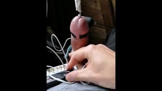 Milking cum by Electro Urethral Stimulation