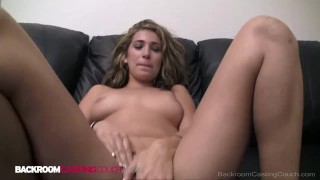 Thank You Says Young Vicky After Being Pussy Fucked For 1st Time On Camera