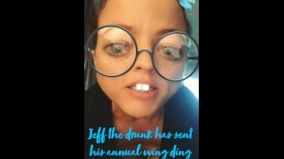 Jeff The Crunk Sends Karla Kitty Dick Pics!