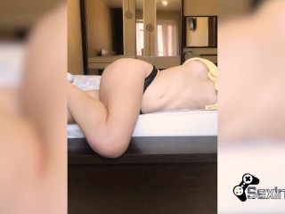 Student Masturbate Pussy and Record it all for the Boyfriend