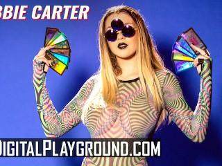 Digitalplayground - Big tit hippy Gabbie Carter Slut Gets Cumshot in Her Third Eye