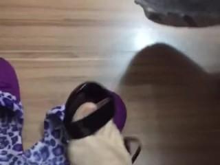 @tici_feet IG ticii_feet dangling black arezzo sandal (preview)