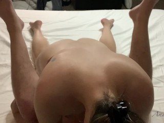 Dominant Married MILF Having Sensual Amazon Position Sex With Intense Pussy Licking Orgasm Ending