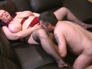 bbw milf wife licked and fingered