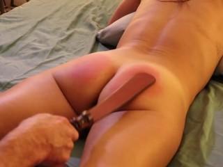 Sandra Moore (TMS-1) Amateur Submissive BDSM Paddling Caning Bondage Doggystyle Creampie