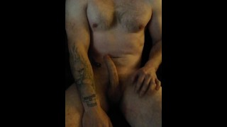 Jerking off to the thought of my dream girl in kinky boots. - straight stud wanking and moaning