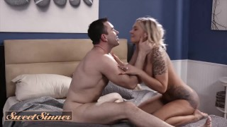 Sweet Sinner – As Soon As Her Husband Left Alison Avery Brings Home Her Favorite Affair Will Pounder