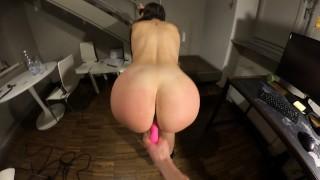 Amateur BDSM Training with Vibrator Torture (Part 3) - Bondage series - SplashOfLove