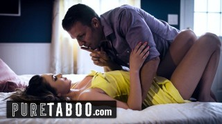 PURE TABOO Athena Faris Double-Creampied by Boyfriend & Step-Brother