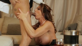 Busty Mature Milf Deauxma Fucked By The Bellboy Keni Styles - 4K teaser