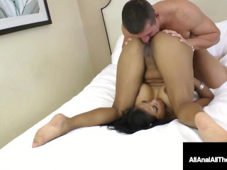 Crazy Busty Maxine X Takes A Throbbing Cock In Her Behind!