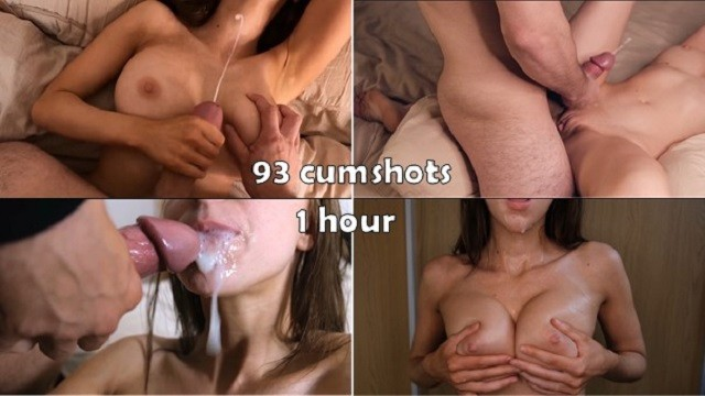 Ultimate MiniBlondie Cumshot compilation 1 HOUR
