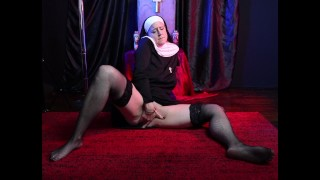 TEASER: Sacrilegious Priest sodomizes, fucks, fists, has his cock sucked by two lesbian nuns + more!