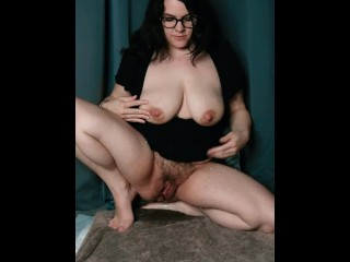 Spraying Breast Milk from my Engorged Tits while Pissing