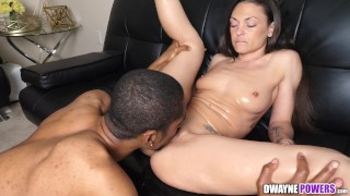 Olivia Wilder Riding Black Dick After Massage