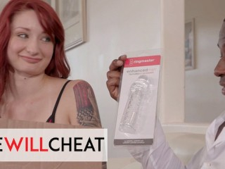 She Will Cheat – Hot Red Hair Violet Monroe Gets Herself Big Black Cock