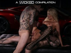 Wicked DPs & Cumshots Compilation