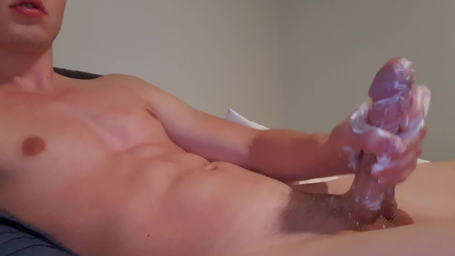 Men useing big cocks Big Dick Masturbating With Lotion Pornhub Com