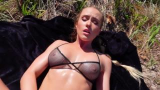 SecretCrush4K - Cum Inside Me On Public Beach With FREUTOY