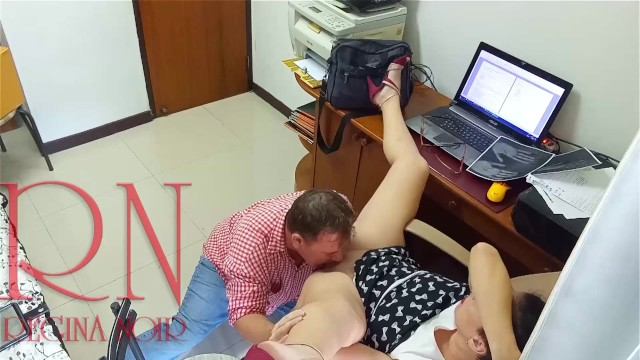 Man in office eats pussy orn In Office Lady Boss And Eemployee Pussy Lick 1 Pornhub Com