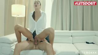 WhiteBoxxx - Cindy Shine Kinky Czech Teen Intense Orgasm With Her Horny Boyfriend - LETSDOEIT