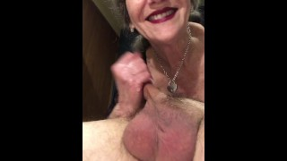 Mature MILF Red Lipstick 69 Extreme Deepthroat Swallow Throat Fucking Throatpie