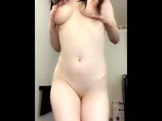 Cute Girl Short and Sweet Striptease