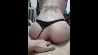 Hard anal orgasms