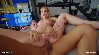Rammed - Bubble Butt Daisy Stone Bounces On Big Dick