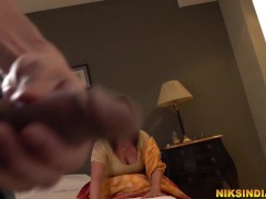 Stepmom seduces son and gets her ass and pussy fucked