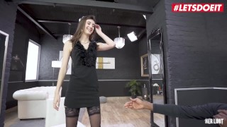HerLimit - Lina Luxa Sexy French Teen Analized By Huge BBC In Interracial Sex - LETSDOEIT
