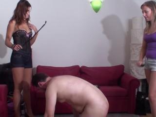 Beim sex schläge Sklavinnen Po
