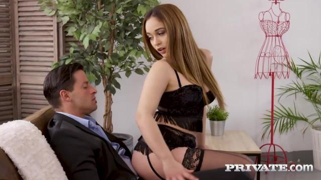 Private com - Ginebra Bellucci Gets Ass Fucked & Cummed In!