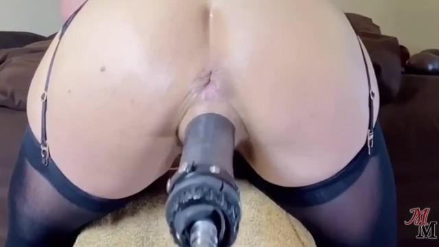 Milf Dildo Maschine Squirt