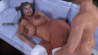 CURVY COUGARS STREET V1 - TWO FAT ASS BABES AND ONE FAT DICK (2)