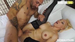 CastingAllaItaliana - Big Tits Italian Blonde Ass Fucked At Porn Audition - AmateurEuro