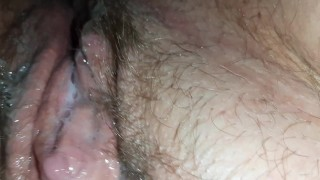 Gangbanged and plugged creampie till I got home to show boyfriend