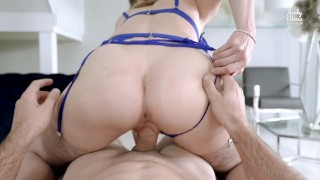 Hot Step Mom Fucks Me Before She Leaves for Work - Cory Chase