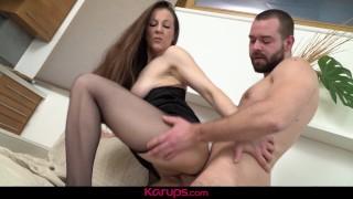 Karups - Mature Brunette Valentina Ross Fucks Her Neighbor