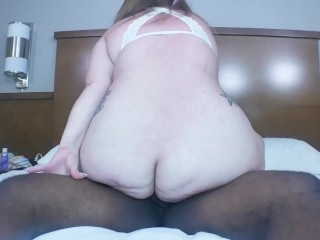 BBW Submissive Lily Loveles can hardly take this big dick