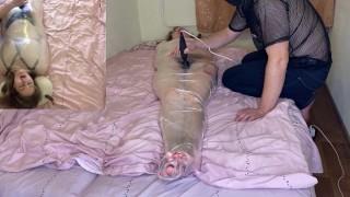 Mummification and vibrator. Mega Hairy Pussy Shake! Sweat! TRAILER