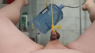 Hanging 40lbs From Balls Goes WRONG