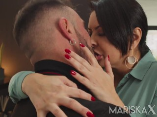 MARISKAX Latina MILF Mariska gets fucked by a big dick
