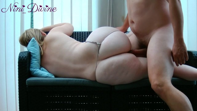 Big ass mom lets her virgin son fuck her!