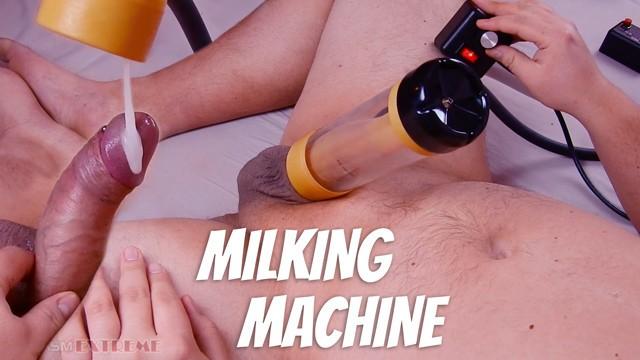 INTENSE Milking Machine Blowjob! Venus 2000 Hands Free Cumshot & Post Orgasm Torture