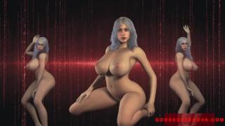 Hot 3D Animation Mesmerizing JOI Voiced by Goddess Zenova