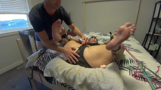 The Weak Spot (Part 2) - Gwen's Extremely Ticklish Clit! HD PREVIEW